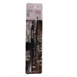 Blister 2 lápices pastel...