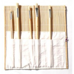 Portapinceles de bambú MICHEL